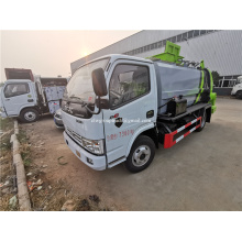 Dongfeng low price trash compactor truck