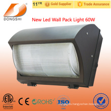 Best selling 60w outdoor led wall pack light garden led wall pack