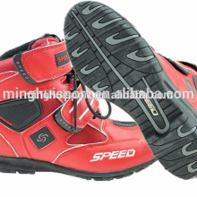 Men Motorcycle boots BMX shoes Motocross Racing ankle boots white,black,red