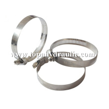 wire stainless steel hose pipe clamp fitting