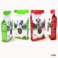 Quad Sealed Dog Food Bag with Zipper