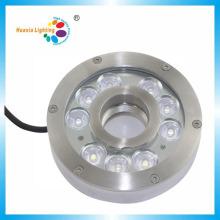 316 luz impermeável da fonte subaquática de aço inoxidável do diodo emissor de luz 27W