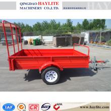 farm trailer with powder coating
