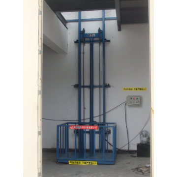 High Quality Stationary Type Guide Rail Lift Table