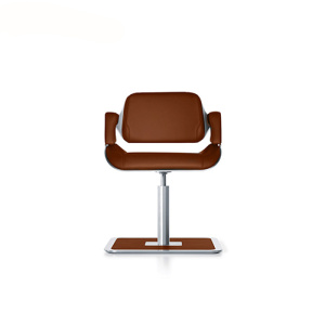 Interstuhl Silver Brodrehsessel Lounge Conference Chair