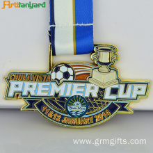 Newest Customized Medal With Customer Ribbon