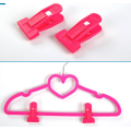 Pink Hanger Clips for Flocked Hangers