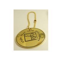 Handbag Tag Cheap Custom Round Metal Tag