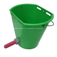 Cubo de alimentación para terneros Cubo de plástico para alimentación de terneros