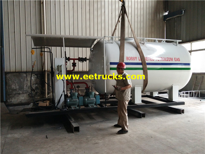 5tons Cooking Gas Skid Plants