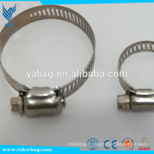 High quality 304 stainless steel hose hoop for exhaust
