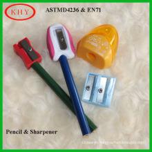 Stationery set pencil with sharpener for children