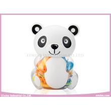 Chocalhos de bebê em brinquedos de plástico Panda para bebê (8PCS)