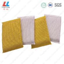 Foam sightly kitchen golden cleaning sponge