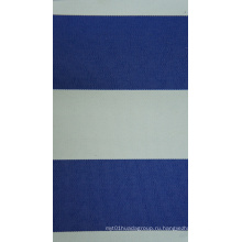 Оксфорд 450д ПУ полиэстер окрашенная Пряжа полосами ткани