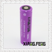 3.7V Xiangfeng 18650 2600mAh Icr Rechargeable Lithium Battery Batteries for Sale