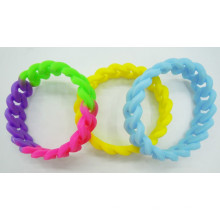 Hot Sell Twist Silicone Bracelet