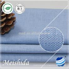 nuevo patrón 100% tela de algodón de lino de alta calidad