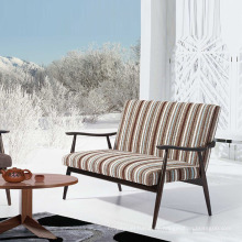 Best Selling Wooden Fabric Sofa Chairs with Famous Design