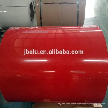 Precio de fábrica 1060,1145,1050,1100,3003,3004,5052, 5083,6061 rollo / tablero de aluminio con recubrimiento de color
