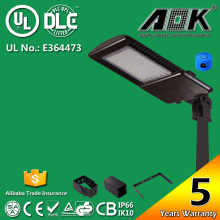 130lm/W LED Shoe Box Light / LED Parking Lot 300W 5 Years Warranty & Meanwell Driver