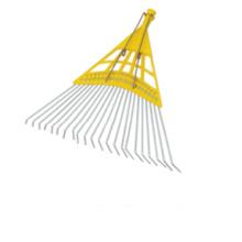 Cabeza más vendida del rastrillo del jardín del alambre de acero