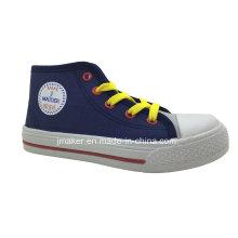 Zapatilla de deporte de los niños del tobillo del estilo popular (X172-S & B)