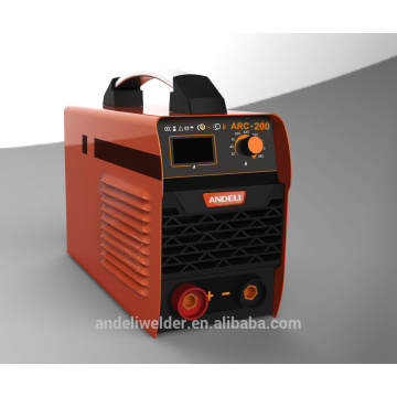 Portable Mini IGBT DC mma welding machine inverter welder,single phase 220volt with CE