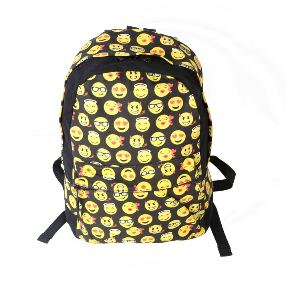 Emoji Backpack Rucksack school bag