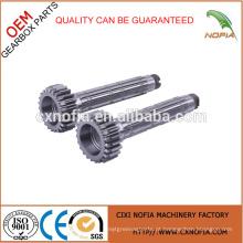 Feito em China Eixo Fábrica Pinhão Engrenagens Eixo