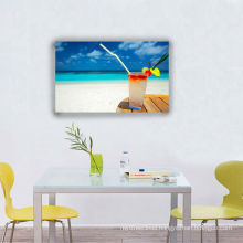 Casual Beach Times Wall Art, Quality Frameless