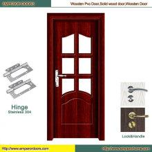 Puerta de seguridad de la puerta de cristal Puerta de la puerta de MDF