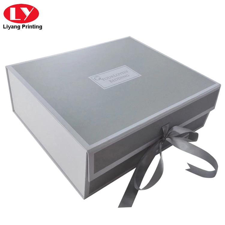 Grey Folding Box