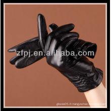2012 gants en cuir sur mesure