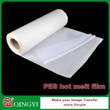 QINGYI Hot Melt PES Klebefolie für Aluminium-Verbundplatte