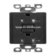 YGB-095NL GFCI 20A tamper resistance industrial electrical usa outlet socket receptacle designed for generators