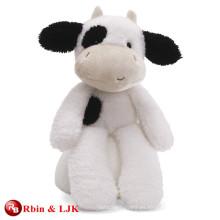 Juguete negro relleno precioso promocional de la vaca