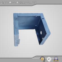 Coque d'estampage métallique avec pulvérisation de poudre