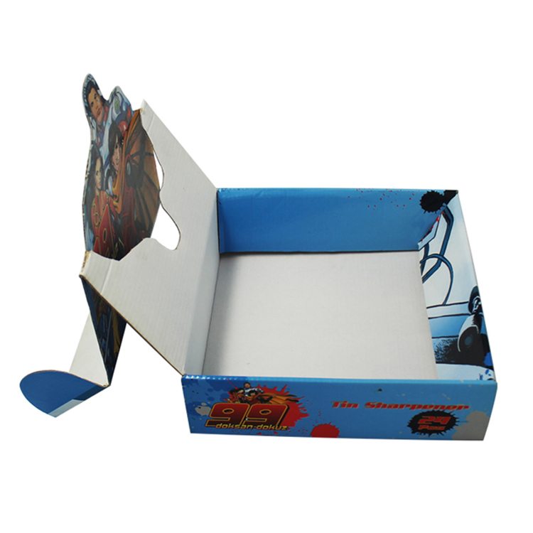Printed Counter Desktop Corrugated Gift Display Box