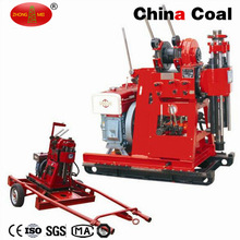 Small 100m Deep Hydraulic Irrigation Bore Well Drilling Rig