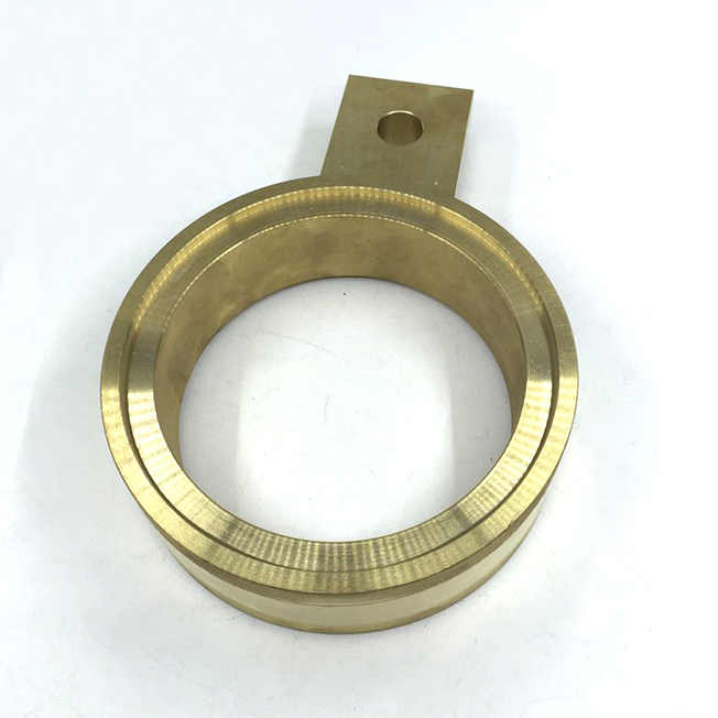 brass parts machining