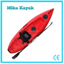 Único assento caiaque pesca barata canoas de fibra de vidro paddle boats
