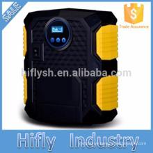 LED Light Digital Pre-set Portable 12V 260PSI Car Tire Inflator Pump Mini Digital Compressor Auto Stop Pump Car air compressor
