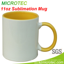 11 Oz Ceramic Mug with Gold Color Printing (MT-B002H)