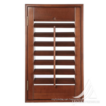 Top Selling Customized Solid Timber Plantation Window Louver Shutters