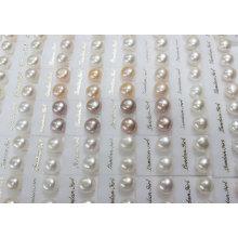Boucles d'oreilles perles de perles d'eau douce (ER1438)