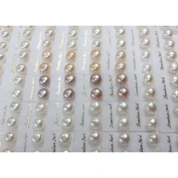 Pendientes de perlas de perlas de agua dulce (ER1438)
