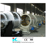 HDPE pipes extrusion machine