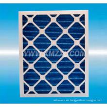 Filtro de papel marco