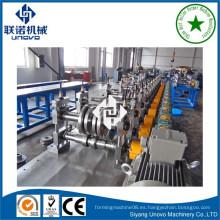 Industrial metal obturador slat rollo anterior haciendo máquina